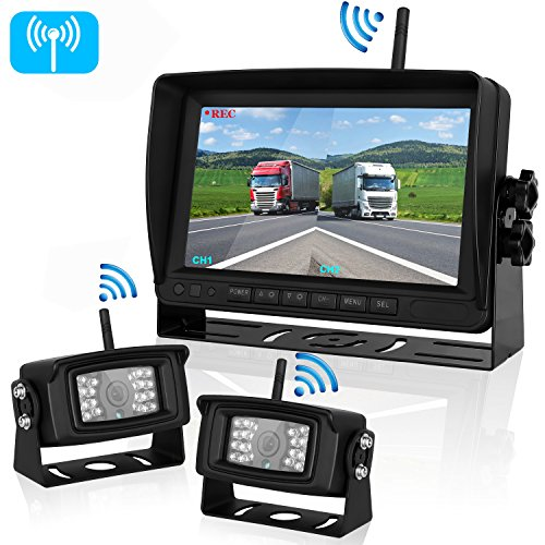 dual wireless backup dash cam