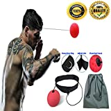 Boxing Reflex Ball Fight Fitness Exercise Reaction Equipment Improve Boxer Coordination Response Speed