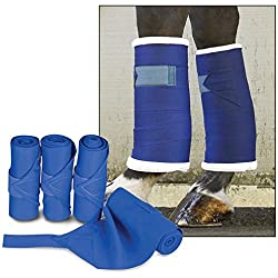 Leg Wraps Standing Color: Blue by Toklat