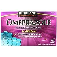 Kirkland Signature Omeprazole Delayed Release, Tabletas reductoras de ácido 20 mg, 42 unidades