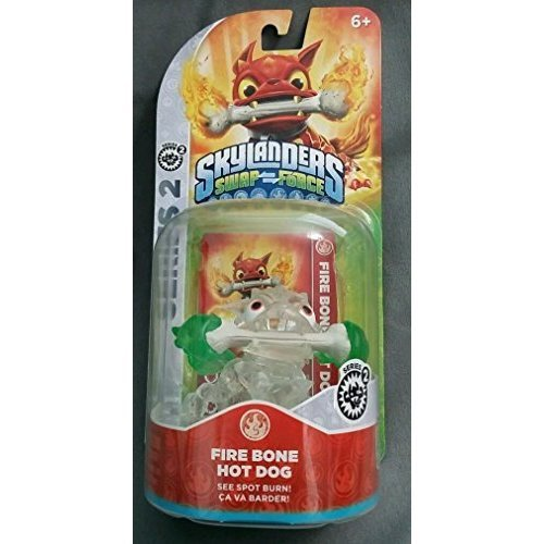 crystal-clear-fire-bone-hot-dog-green-flames-variant-skylanders-swap-force-frito-lay-promo-exclusive