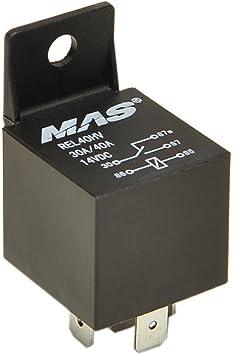 MAS 14V 30//50Amp DC5Pin Automotive Power Relay Metal Mount