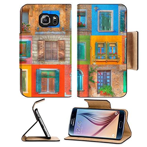 msd-premium-samsung-galaxy-s6-edge-flip-pu-leather-wallet-case-collage-of-italian-rustic-windows-in-