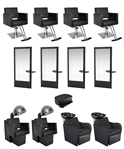 Allegro Mirror (BR Beauty 4-Operator Allegro Gold Salon Package)