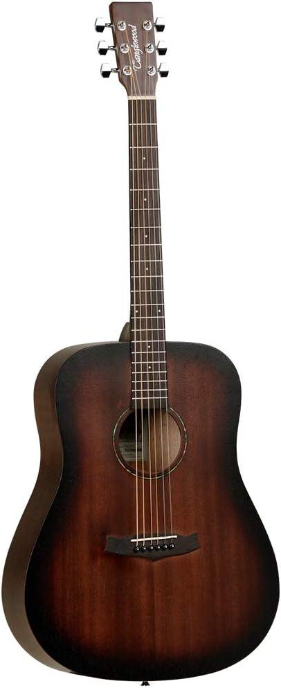 Tanglewood TWCRD Crossroads - Guitarra acústica, color caoba