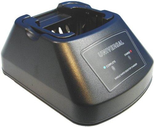 Universal Rapid Intellicharger for Motorola Mototrbo XPR-6300, XPR-6350, XPR-6500, XPR-6550 XiR P-8200, P-8208, P-8260, P-8268 DP-3400, DP-3401, DP-3600, DP-3601 DGP-4150, DGP-4150+, DGP-6150, DGP-6150+ XPR6580 XPR6380 - Gps Dgps