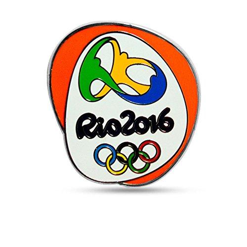 Yiwa 2016 Rio de Janeiro Olympics Protrusion Emblem Logo Brooch Pin Badge Keepsake