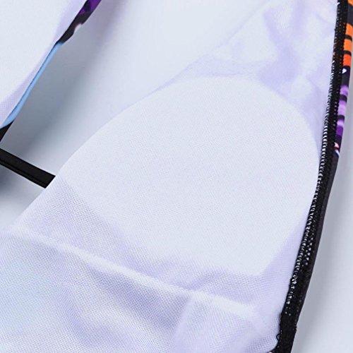 TPulling Damen Sommer Soft Cup﹛Schmetterlings Druck Bandage-BH﹜Triangle Bikini﹛Print Split Badeanzug Tankini﹜Bademode Push-up Zweiteiler Pareos Strandkleider Schwarz kWv6TZ4dH