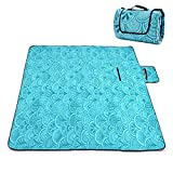 Picnic Blanket Waterproof Extra Large, Outdoot Blanket with Waterproof Backing for Family Concerts,Beach,Park