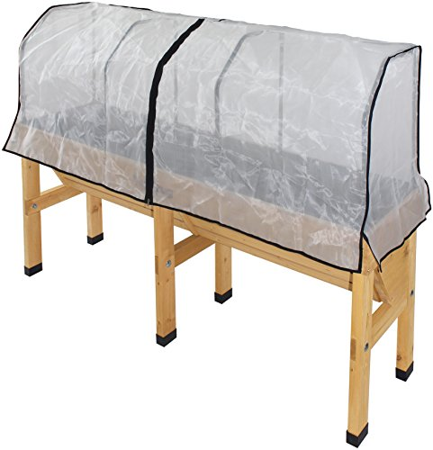 Vegtrug MWHMM 1156 USA Medium Wall hugger Greenhouse Micromesh Cover by Veg Trug