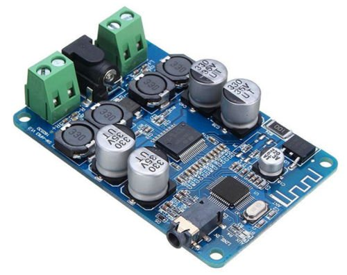 25W+25W TDA7492P Wireless Bluetooth 4.0 Audio Receiver Digital Amplifier Board by Jolooyo