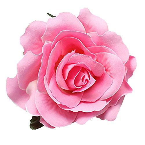 dds5391 Sweet Rose Blossom Flower Wedding Bridal Hair Clip Hairpin Brooch Pin