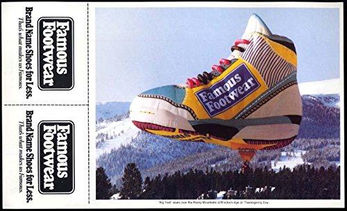Farmous Footwear Hot-Air Balloon coupon / poster (Air Footwear)