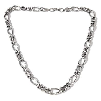 Relovsk Collar De Acero Inoxidable Joyas del Mismo Sexo ...