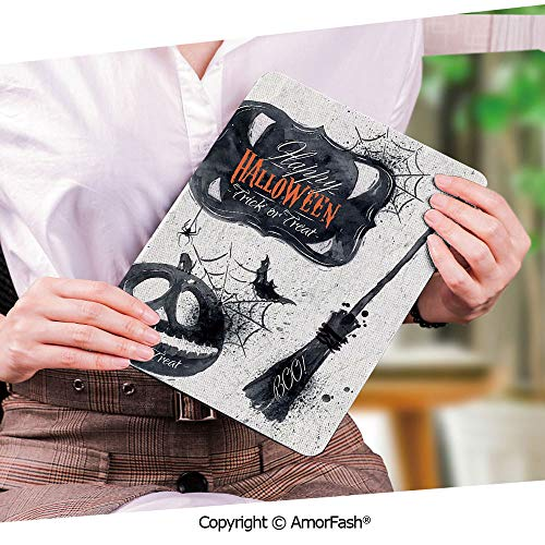 - Samsung Galaxy Tab S2 9.7 Case,Proof Impact Resistant SM-T810/T813/T815 Tablet,Vintage Halloween,Halloween Symbols Happy Holiday Witch Lives Here Broomstick Spider Web Decorative,Black White