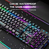 Wireless Gaming Keyboard and Mouse Combo with