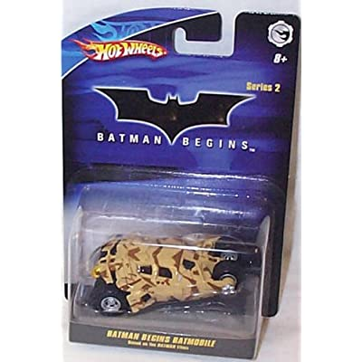 Mattel Hot Wheels 1:50 Batman Begins Batmobile Tumbler: Toys & Games