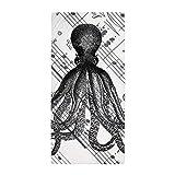 CafePress - Vintage Nautical Steampunk Octopus - Large Beach Towel, Soft 30''x60'' Towel with Unique Design