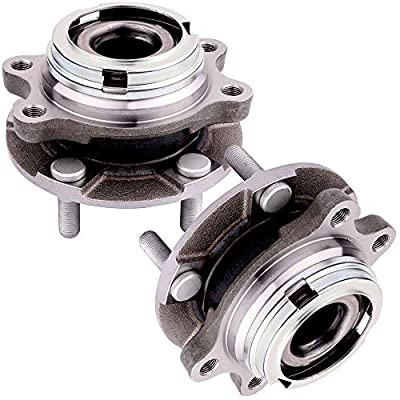 cciyu HA590064 Wheel Hub and Bearing Assembly Replacement for fit Toyota Prius Touring L4 1.5L 1497CC 1NZFXE Electric/Gas 2007-2009 Wheel Hubs 5 Lugs (2): Automotive