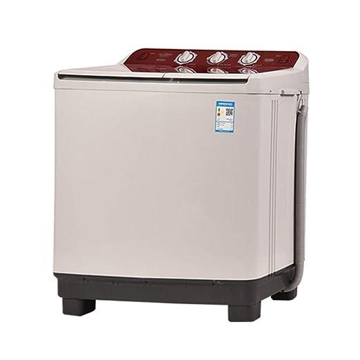 Lavadora Doble Barril Semiautomática Portátil De 10 Kg De ...