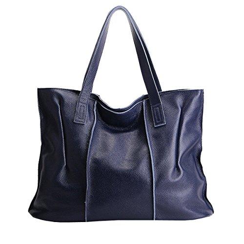épaule portés Sac cuir Valin femme portés à fashion en Sac main Bleu 69316 Sac LF main xEqwPCqOS
