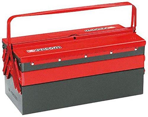 Boîte à outils métallique - 5 compartiments - Facom BT.11A