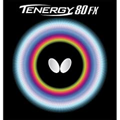 Butterfly Tenergy 80 FX has a unique feeling using a combination of the softer FX version of Spring Sponge technology, High Tension rubber, and a tacky surface. It is excellent for a variety of playing styles due to its versatility. The desig...