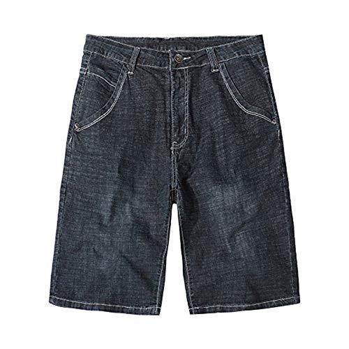 Corti Beach Nero Pantaloncini Spiaggia Da Casual Plus Short Denim Estivi Jeans Lannister Abbigliamento Uomo Festivo 7Xpa6qq