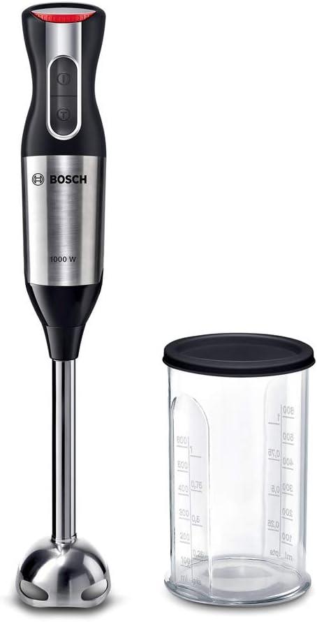 Bosch MS62M6110 ErgoMixx Style Batidora de Mano, 1000 W, Plástico, 12 Velocidades