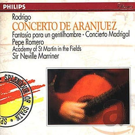 Rodrigo: Concierto de Aranjuez; Fantasía para un gentilhombre ...