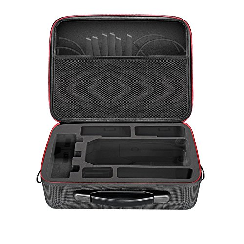 Neewer Durable Lightweight Protective Carrying Case for DJI Mavic Pro Drone Quadcopter, Remote Controller and Other Accessories, Hardshell with EVA Padding, 21 ounces/600 grams, Black by Neewer