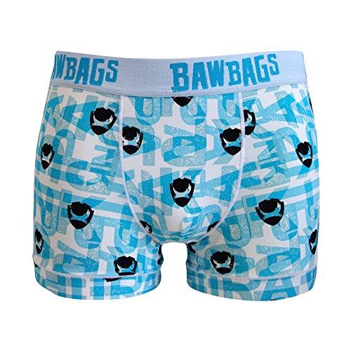 Bawbags Cool De Sacs Brewdog Boxer Shorts   White Medium