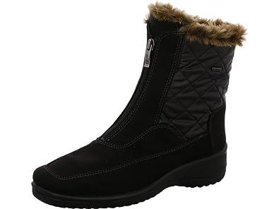 df2a5a6071f ARA München-St-Gor-Tex Snow Boots Womens Black Schwarz (schwarz ...