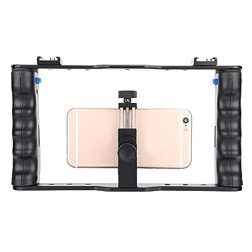 Empuñadura de cámara de mano, estabilizador de jaula de cámara de ...