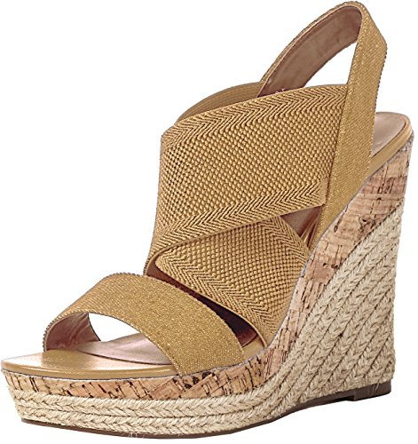 by Allison Sandal Sand Charles Charles Rope Black Cork Wedge David Women's c7W6WAqg