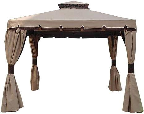 GTR Cenador Royal 3 X 4 Completo de Cortinas y Cortinas mosquiteras: Amazon.es: Jardín