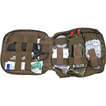 First Aid Kit By Renegade Survival for Camping and Hiking or Home and Workplace. It Is a Ifak Level #1 Drop Leg First Aid Kit for the Prepper Who Wants Tactical Gear for Trauma or to Use Case Case of a Natural Disaster or Outdoor Survival. Renegade Survival Wants You to Survive and Thrive. by Renegade Survival