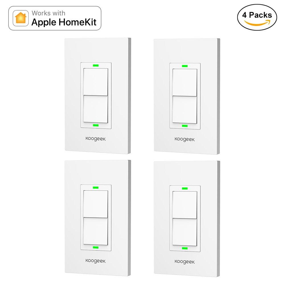 Koogeek Smart 2-Gang WiFi Light Switch