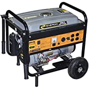 Energin 52223 Portable Generator with Electric Start, 4000-watt