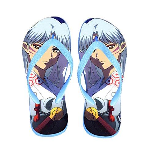 Bromeo Inuyasha Anime Unisex Flip Flops Chanclas 601