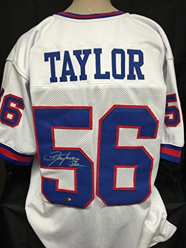 Lawrence Taylor signed custom jersey Tristar coa New York Giants autograph (Taylor Signed Autograph)