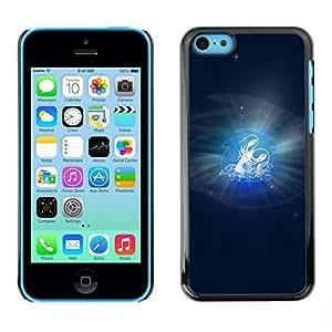 Be Good Phone Accessory // Dura Cáscara cubierta Protectora Caso Carcasa Funda de Protección para Apple Iphone 5C // Cancer Zodiac Sign