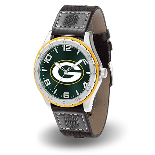 Mens Nfl Sport Watch (Rico Industries NFL Green Bay Packers Watch, One Size, Team Color)
