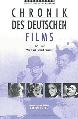 Chronik des deutschen Films 1895-1994