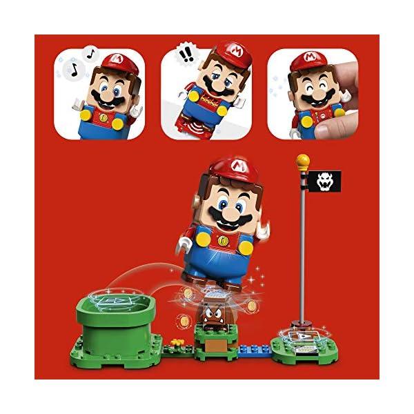 LEGO Super Mario Starter Pack Costruibile per il Percorso di base Avventure con Super Mario, Giocattolo e Idea Regalo… 4 spesavip