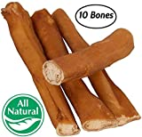 Cheap Pawstruck 5″ Straight Bully Sticks Dogs Puppies (10 Pack) All Natural & Odorless Bully Bones | Grass-Fed Beef | Medium Thickness Long Lasting Dog Chew Dental Pizzle Treats | Best Thick Bullie Stix