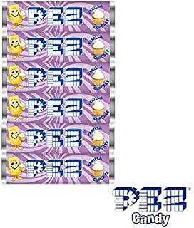 product image for Vanilla Cupcake Flavor PEZ Candy Refills, 6 Rolls, 12 Count Pack
