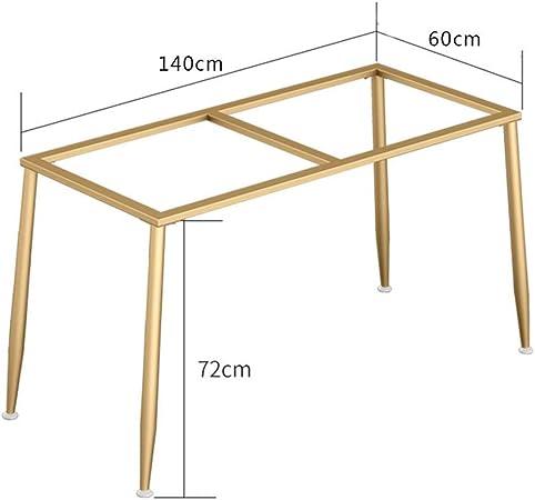 WaiMin Pie de soporte de muebles Patas de la mesa de hierro dorado soporte patas de la mesa de mármol escritorio de la computadora patas del escritorio patas de la mesa de