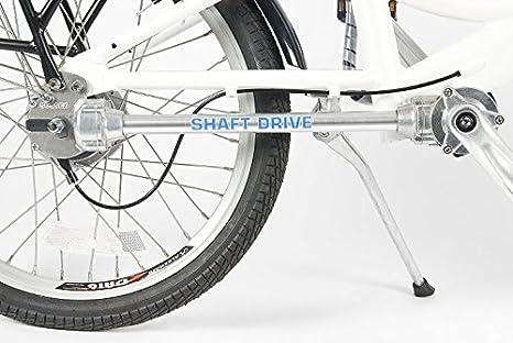 EOS - La e-Bike Chainless - Display LCD 5 niveles - Transmisión con Cardan - Faros
