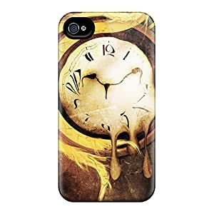 New Shockproof Protection Cases Covers For Iphone 6/ Abstract Artistic Clocks Psychedelic Time Cases Covers